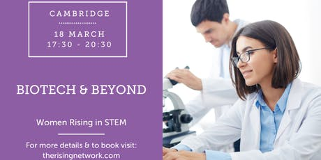 Women Rising in STEM: Biotech and Beyond tickets