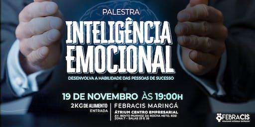 [Maringá/PR] Palestra Inteligência Emocional 19/11