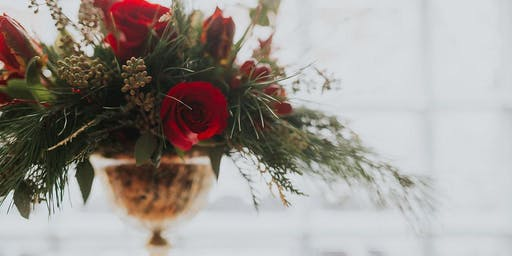 Holiday Centerpiece Workshop with Orchard Lane Flowers