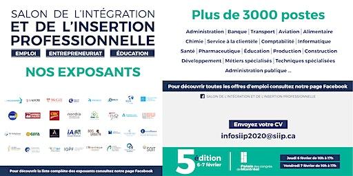 Information sur les offres d'emploi - SIIP 2020
