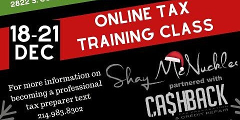 Onsite & Online Tax Preparation Training