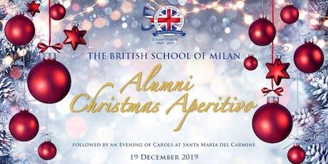 BSM SJH Alumni Christmas Aperitivo 2019 biglietti
