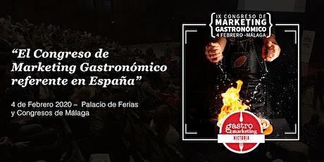 Gastromarketing Málaga 2020 entradas