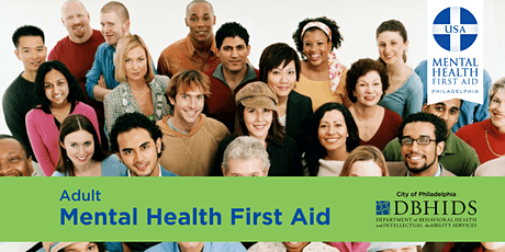 Adult Mental Health First Aid @ PARR tickets