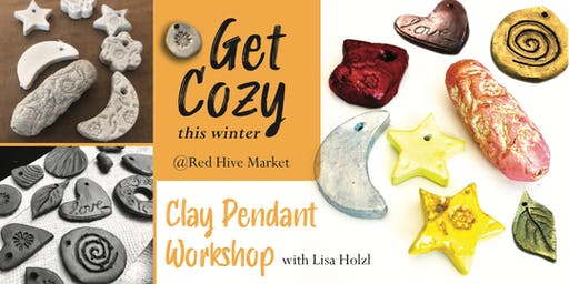 Create 4 Unique Pendants in our 2-Day Workshop!