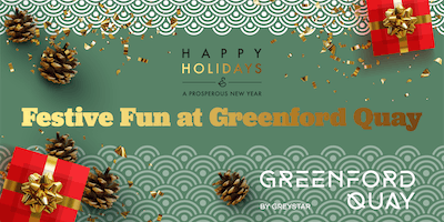 Festive Fun at Greenford Quay: Workshops and Santa's Stories