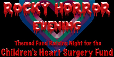 A Rocky Horror Themed Evening for the CHSF tickets