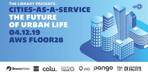 Cities-as-a-Service: the Future of Urban Life
