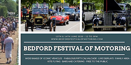 Postponed: Bedford  Festival of Motoring 2020 tickets