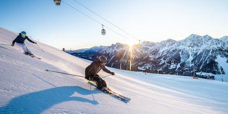 Presentazione calendario OltreNeve: sciate in compagnia ma non solo tickets