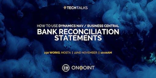 TECHTALKS : Bank Reconciliation Statements
