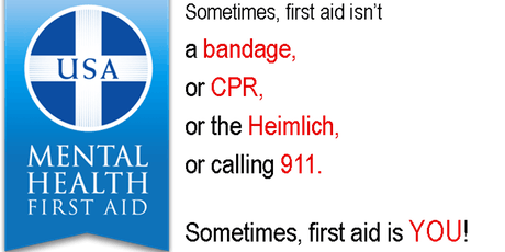 Community Adult Mental Health First Aid Training tickets