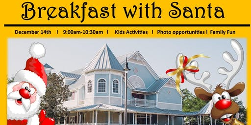 City of Longwood Breakfast with Santa