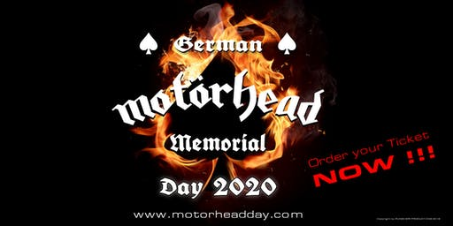 MOTÖRHEAD DAY 2020 - GERMAN MEMORIAL
