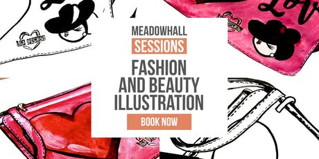 Fashion and Beauty Illustration with Love Moschino tickets