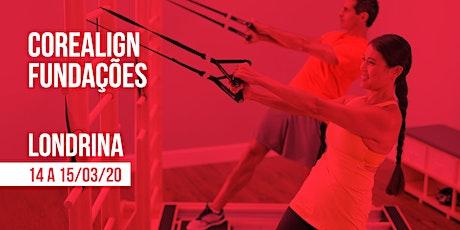 Formação em CoreAlign - Módulo Fundações - Physio Pilates Balanced Body - Londrina ingressos
