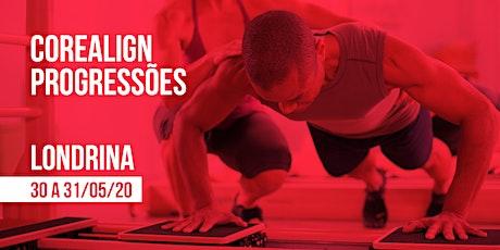 Formação em CoreAlign - Módulo Progressões - Physio Pilates Balanced Body - Londrina ingressos