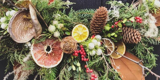 Winter Wreaths at Stone Tower Winery