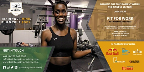 Train for Gains Academy presents: Fit For Work tickets