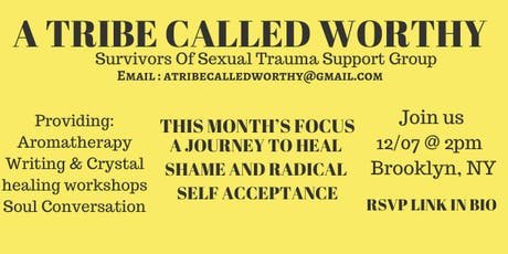 A journey to Heal Shame and Radical Self Acceptance tickets