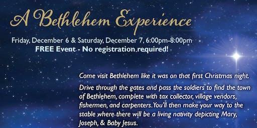 A Bethlehem Experience