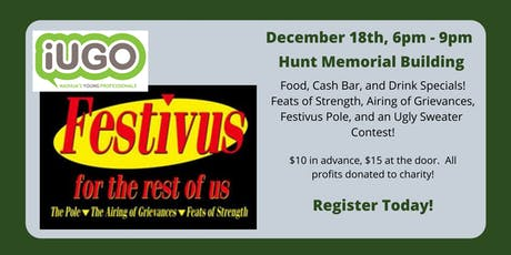 Festivus Holiday Party 2019 tickets