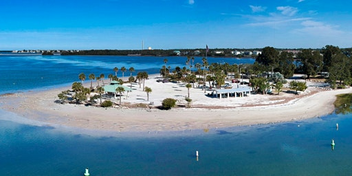 Sunset Beach (Tarpon Springs) Cleanup with Dixie Belle Paint Company