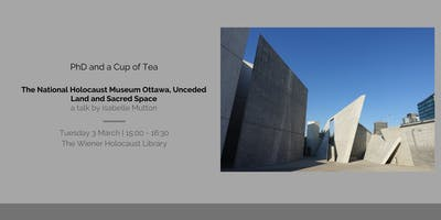 The National Holocaust Monument Ottawa, Unceded Land and Sacred Spaces