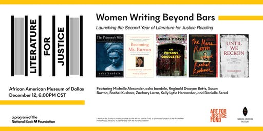 Literature for Justice Launch Event: Women Writing Beyond Bars