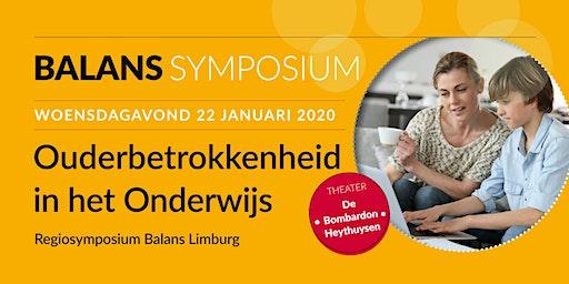Ouderbetrokkenheid in het Onderwijs - Regiosymposium Balans Limburg
