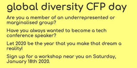 Boston Global Diversity Call For Papers Day tickets