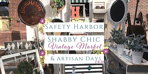 Spring Safety Harbor Shabby Chic Vintage Market & Artisan Day