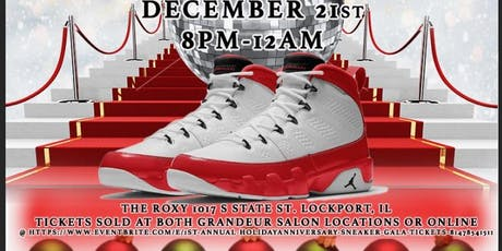 1st annual Holiday/Anniversary Sneaker Gala tickets