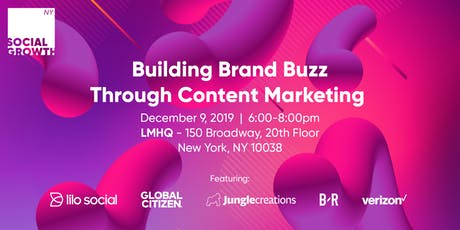 Building Brand Buzz Through Content Marketing tickets