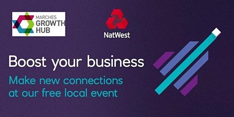 Business Support Clinic- Shrewsbury #NatWestBoost  tickets