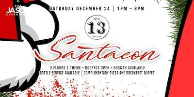SantaCon at Bar 13