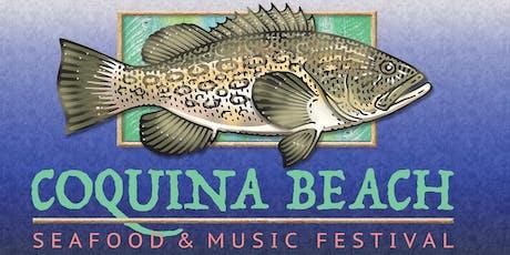 Coquina Beach Seafood & Music Festival tickets