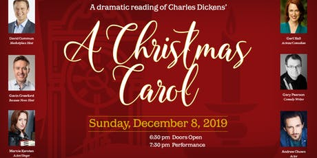 "Charles Dickens', ""A Christmas Carol"" Reading tickets"