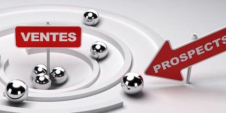 Prospecter, vendre et négocier billets