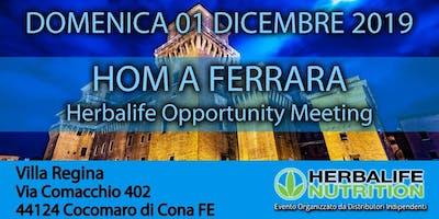 Herbalife Opportunity Meeting FERRARA