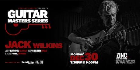 Guitar Masters Series: Jack Wilkins billets