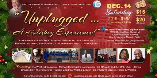 """Unplugged ... A Holiday Experience"""