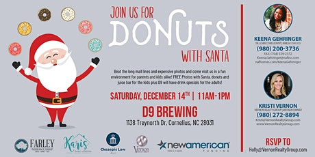 Donuts with Santa tickets