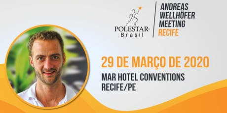 Andreas Wellhöfer Meeting Recife ingressos