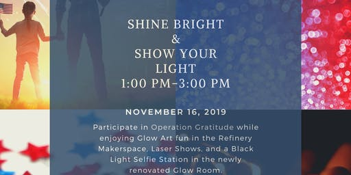 Shine Bright & Show Your Light at Horizons Unlimited