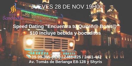 Speed Dating | Quito entradas