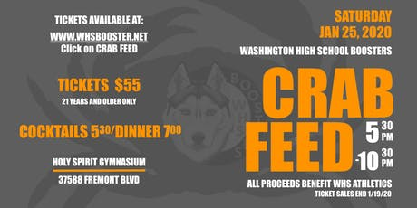 2020 WHS Booster Crab Feed tickets