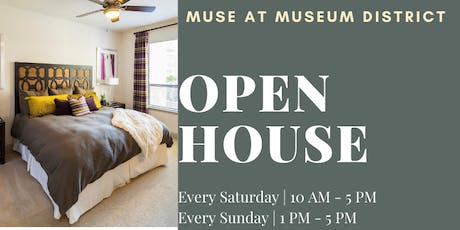 Muse at Museum District - Open House - Tour & Win! tickets