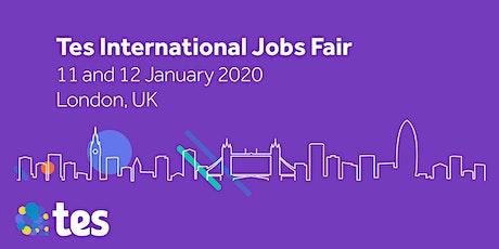 Tes International Jobs Fair tickets