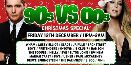 90s vs 00s The Christmas Throwback at  The Lost Paradise - December 13th tickets